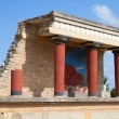 Knossos palace at Crete, Greece, is the largest Br...