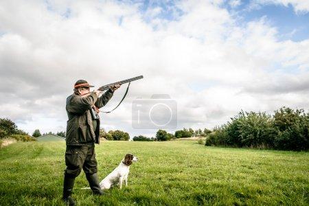 Hunter aiming