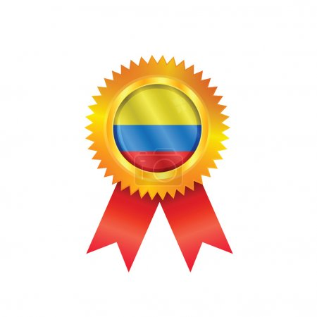 Colombia medal flag