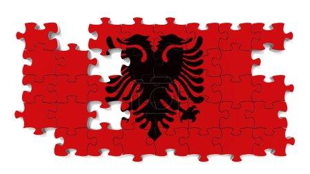Albanian National Flag