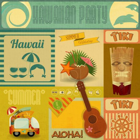 Hawaii Vintage Card