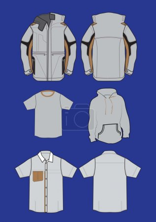 Vector jacket design