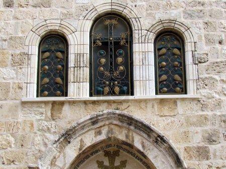 Jerusalem Holy Sepulcher windows 2012