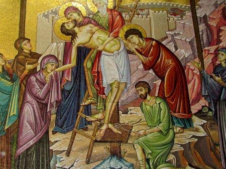 Jerusalem Holy Sepulcher Deposition of Christ 2012