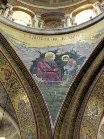 Jerusalem Holy Sepulcher evangelist John 2012