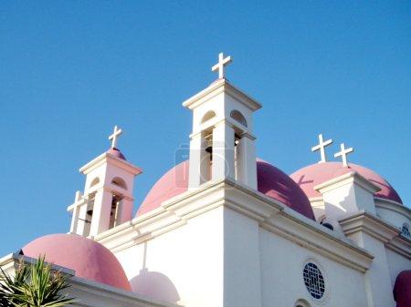 Kapernaum Domes of Church  2010