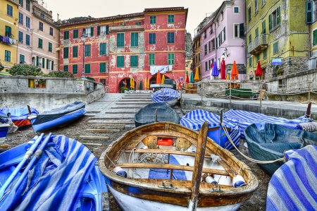 Vernazza fishing village Cinque terre (five lands) Liguria Italy