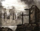 "Постер, картина, фотообои ""Апокалипсис"""