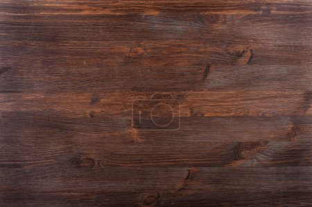 Photo for Textured dark wood background - Royalty Free Image
