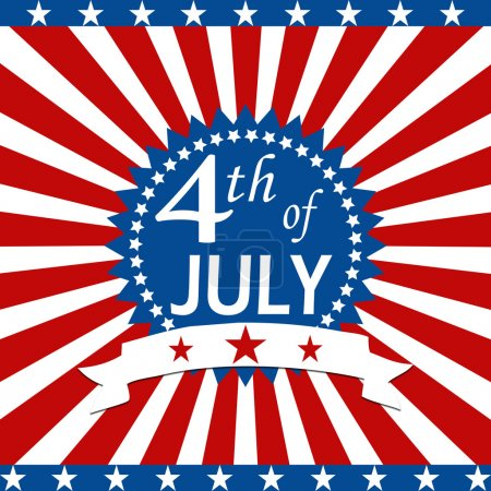 Photo for The fourth of july independence day - Royalty Free Image
