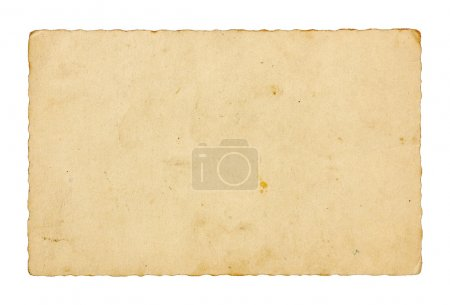 Photo for Paper texture: old postacrd's back - Royalty Free Image