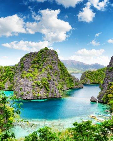Tropical seashore. Coron, Busuanga island, Palawan...