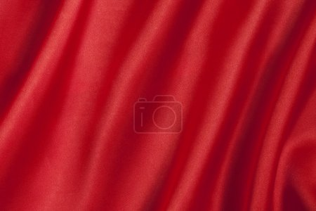 elegant and smooth red satin background
