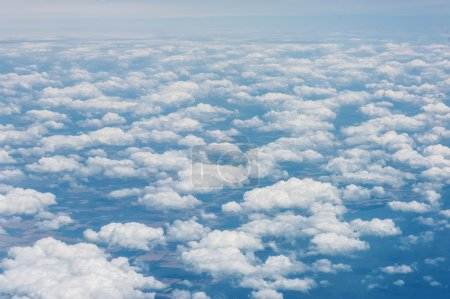 Photo for View through airplane window - Royalty Free Image