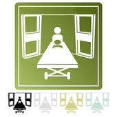 An image of an emegency room icon