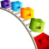 3d Cube Conveyor Belt