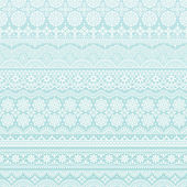 Background of lace trims