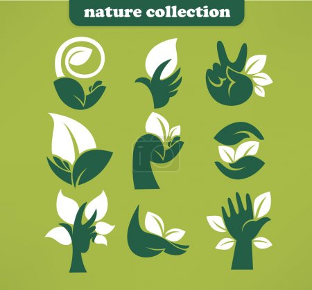 Illustration for Flat icons and symbols - Royalty Free Image
