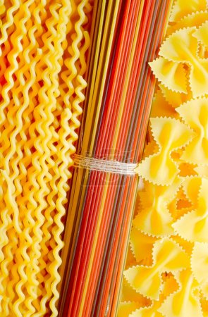Photo for Raw pasta - Royalty Free Image