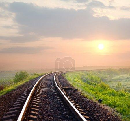 Photo pour Chemin de fer - image libre de droit