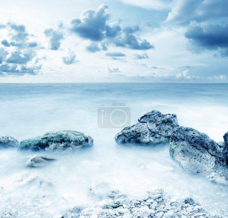 Photo pour Mer en Crimée - image libre de droit