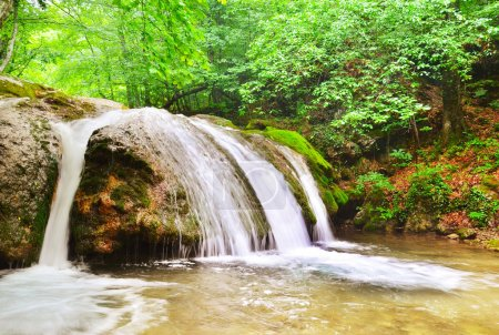 Photo pour Chute d'eau - image libre de droit