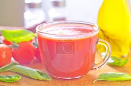 Photo for Tomato juice - Royalty Free Image