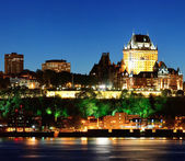 Quebec city v noci