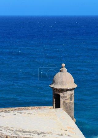 El Morro castle at old San Juan