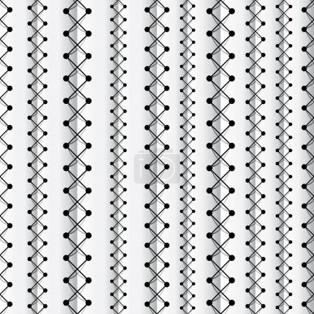 Seams seamless pattern.