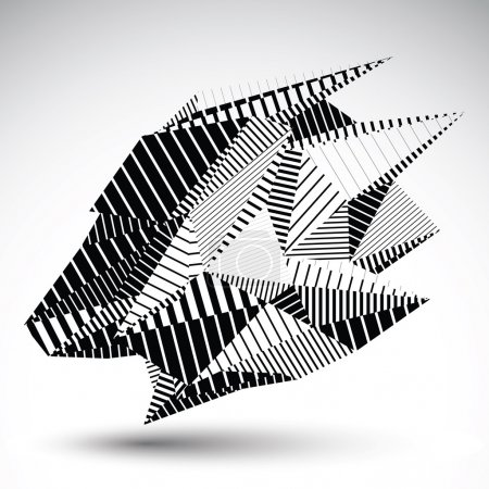 Complicated contrast eps8 figure constructed from triangles with
