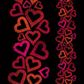 Love theme seamless background hearts seamless pattern vertica
