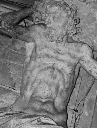 Photo pour Sisyphe - le roi légendaire de Corinthe - image libre de droit