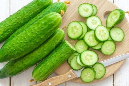 Photo for Cucumbers - Royalty Free Image
