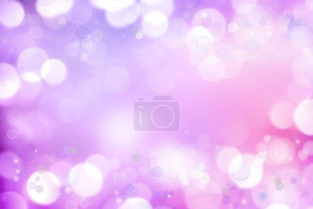 Photo pour Cercles de mise au point doux fond rose violet . - image libre de droit