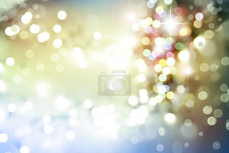 Photo pour Étoiles et cercles fond d'espace - image libre de droit