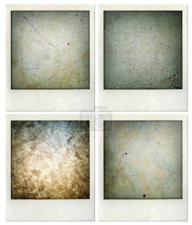 Photo pour Quatre photos de textures assorties - image libre de droit