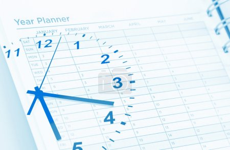 Clock and planner