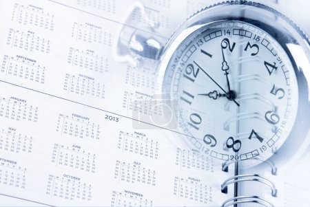 Photo for Time and diary page dates - Royalty Free Image