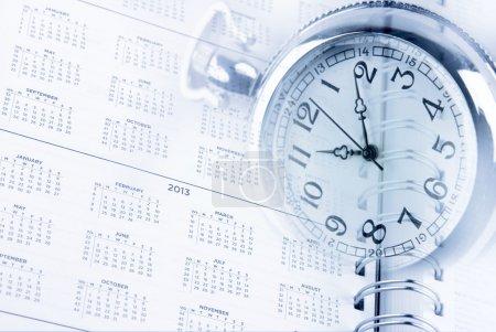 Photo pour Temps et diary dates page - image libre de droit