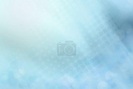 Foto de Puntos de semitono en fondo azul Resumen - Imagen libre de derechos
