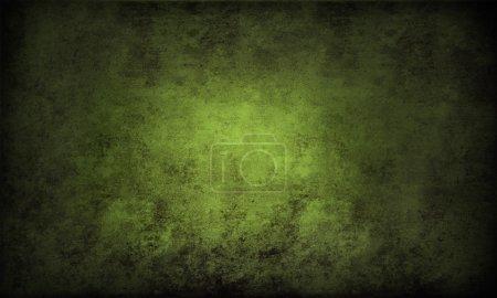 Photo pour Gros plan de fond texturé vert rugueux. Espace de copie - image libre de droit