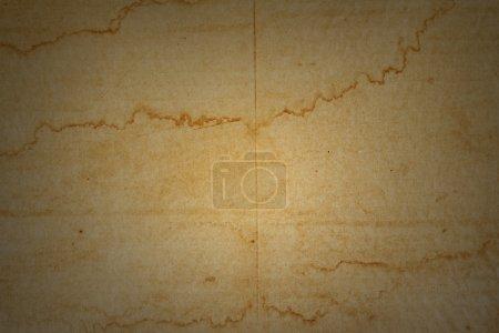 Photo pour Grungy brun fond en carton teinté - image libre de droit