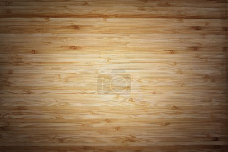 Photo for Closeup of bamboo wood background - Royalty Free Image