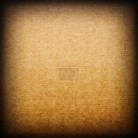 Photo pour Gros plan de la texture du carton brun - image libre de droit