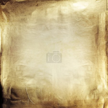 Photo for Closeup of brown grunge paper texture - Royalty Free Image