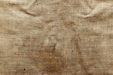 Photo for Closeup of burlap hessian sacking - Royalty Free Image