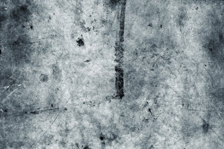 Photo for Grunge blue textured wall closeup - Royalty Free Image