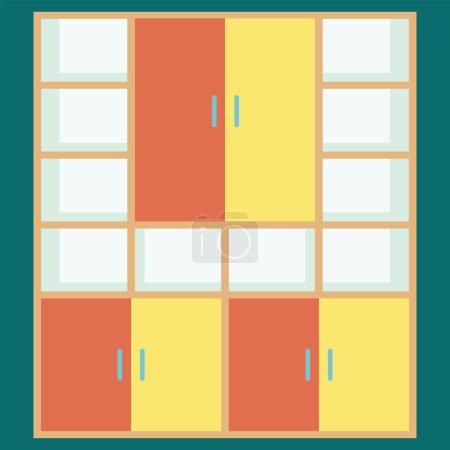 Illustration pour Grand placard, vecteur 10 postscript encapsulé . - image libre de droit