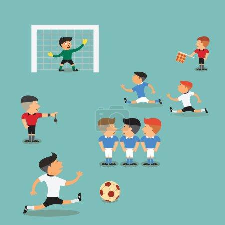 Soccer Player Run